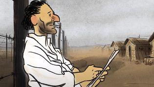"""Capture d'écran, extrait de la bande-annonce du film """"Josep"""" (UMG (au nom de Universal Music Spain S.L.) et 1)"""