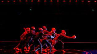Le Cirque du Soleil à Barcelone, le 3 octobre 2019 (ENRIC FONTCUBERTA/EFE / EFE / SIPA)
