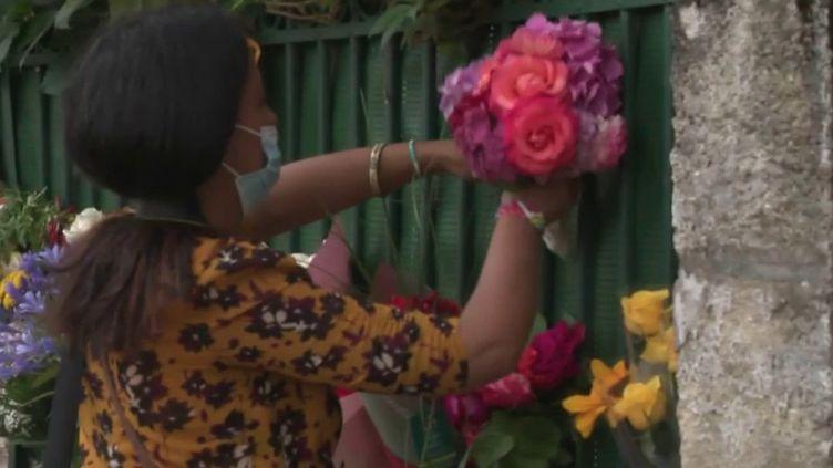 Féminicide à Bordeaux : l'hommage à Sandra P., victime de son ex-conjoint (France 2)