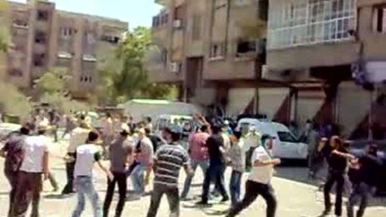 Manifestation à Damas (archives, 15 juillet 2011) (AFP / Youtube)