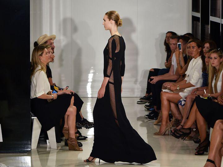 Défilé ralph Rucci printemps-été 2015 à la New York Fashion Week, le 6 septembre 2014 à New York aux Etats-Unis (SLAVEN VLASIC / GETTY IMAGES NORTH AMERICA)