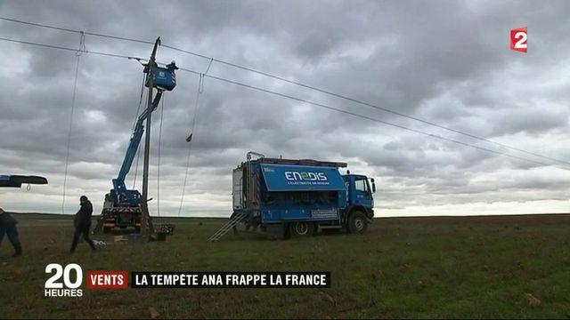 Tempête Ana : des rafales sur toute la France