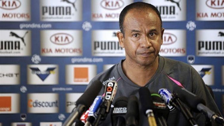 Jean Tigana, entraîneur des Girondins de Bordeaux