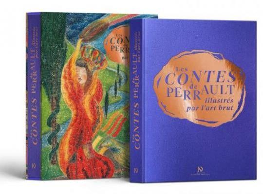 """Le coffret """"Les Contes de Perrault illustrés par l'art brut"""". (Editions Diane De Selliers)"""
