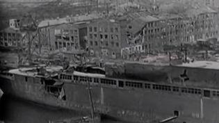 """Le film """"Coeurs ennemis"""" nous plonge dans l'Allemagne d'après-guerre. L'histoire se passe dans la ville de Hambourg, dévastée par les combats, et raconte la période d'occupation alliée de l'Allemagne vaincue. (FRANCE 2)"""