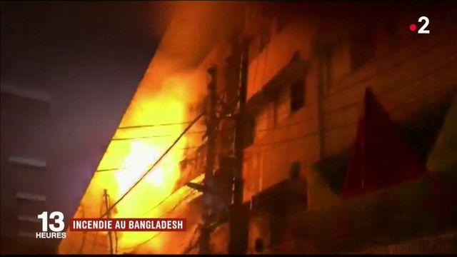 Incendie au Bangladesh : un bilan dramatique fait état d'au moins 70 morts