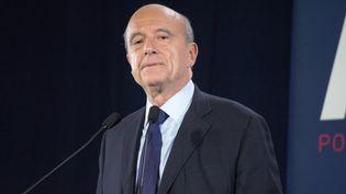 Alain Juppé lors d'un discours à Bordeaux (Gironde), le 9 novembre 2016. (CITIZENSIDE / PAUL ALFRED-HENRI / CITIZENSIDE)