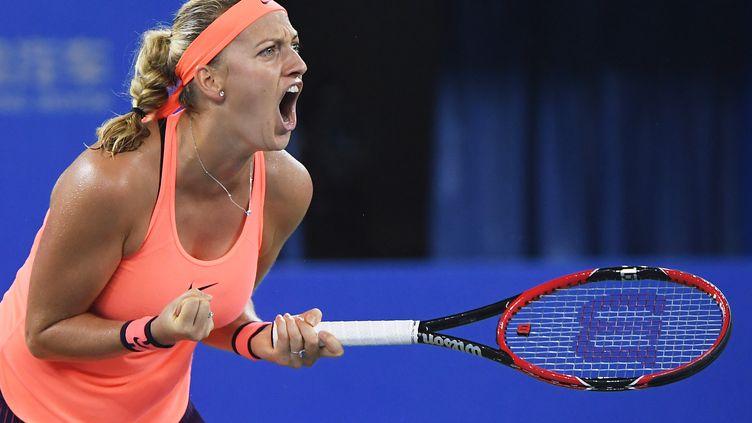 La joueuse tchèque Petra Kvitova (GREG BAKER / AFP)