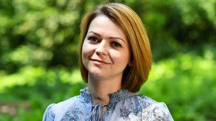 Ioulia Skripal, fille de l'ex-espion russe empoisonné, mercredi 23 mai 2018 à Londres (Royaume-Uni). (DYLAN MARTINEZ / REUTERS)