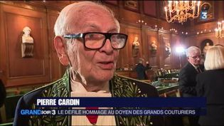 Pierre Cardin (FRANCE 3)