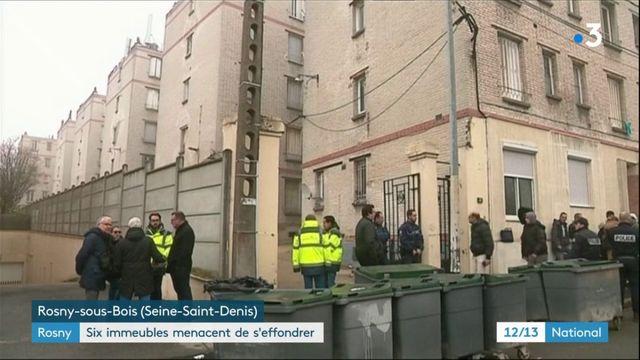 Ronsy : six immeubles menacent de s'effondrer
