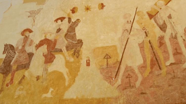 La fresque de l'église de Moeurs-Verdey est dorénavant visible par les amateurs d'art et de patrimoine  (France 3 / Culturebox)