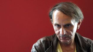 Michel Houellebecq à Barcelone le 19 septembre 2012  (Estevez Alberto / Efe / Sipa)
