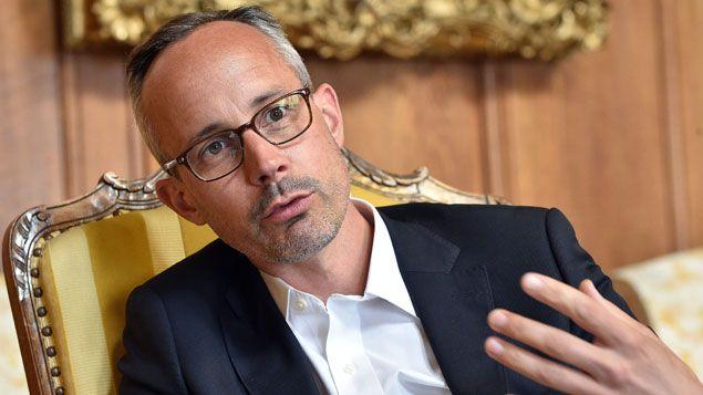 (Romain Voog est le président d'Amazon France depuis 2012 © MAXPPP)
