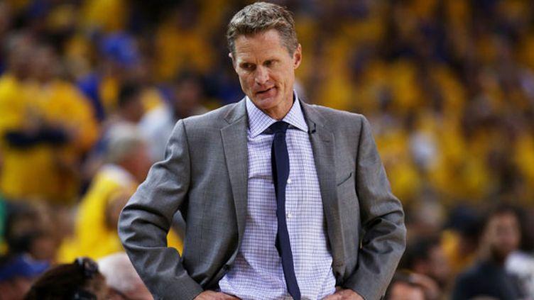 L'entraîneur de Golden State, Steve Kerr