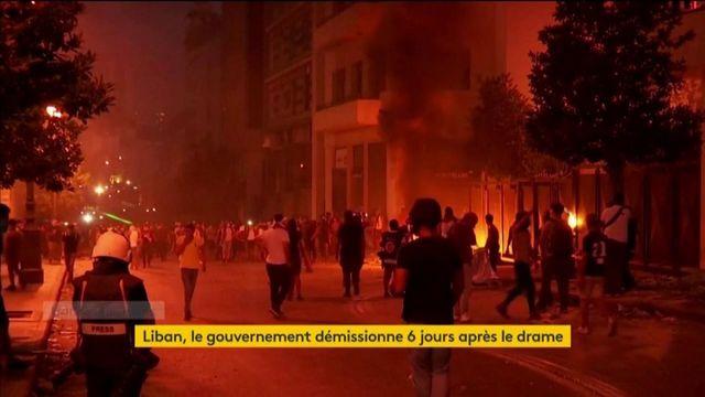 Liban : le gouvernement démissionne six jours après le drame