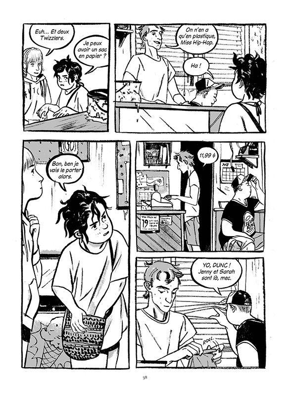 """Cet été-là"", Mariko Tamaki, en libririe le 14 mai  (Jillian Tamaki / Rue de Sèvres)"