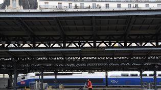 La gare de l'Est à Paris, le 4 avril 2018. (CHRISTOPHE ARCHAMBAULT / AFP)