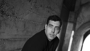 L'auteur et traducteur Pierre Demarty en 2017. (SOPHIE BASSOULS)