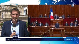 En direct de la conférence nationale des territoires au Sénat, Julien Gasparutto fait le point sur la situation. (FRANCE 3)