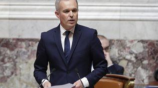 Le président de l'Assemblée nationale, François de Rugy, à Paris, le 20 juin 2018. (THOMAS SAMSON / AFP)