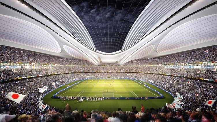 Le futur stade olympique de Tokyo