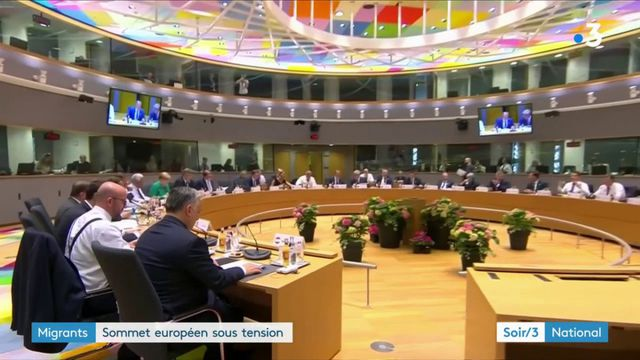 Migrants : un sommet européen sous tension