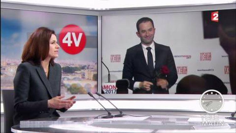 Aurélie Filippetti dans les 4 Vérités (France 2)