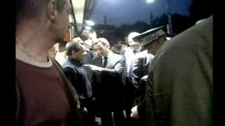 Sarkozy à la Courneuve (DR)