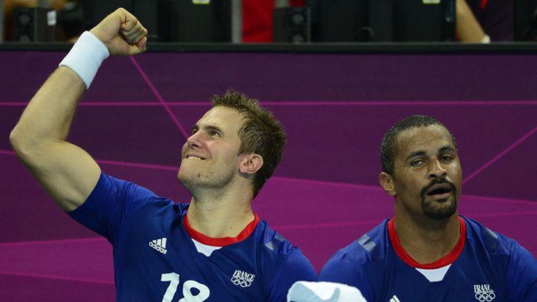 William Accambray et Didier Dinart heureux