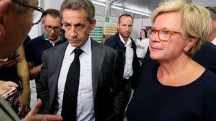 Catherine Vautrin, porte-parole de Nicolas Sarkozy (FRANCOIS NASCIMBENI / AFP)