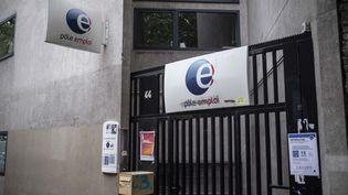 Une agence Pôle Emploi, à Paris, le 25 juillet 2020. (HUGO PASSARELLO LUNA / HANS LUCAS / AFP)