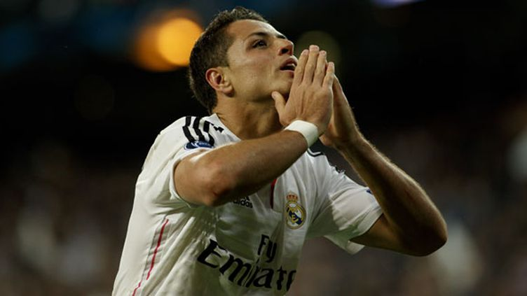 L'attaquant mexicain du Real Madrid, Javier Hernandez