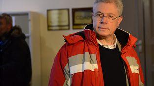 Le buraliste Luc Fournié comparaît pour avoir tué un cambrioleur en 2009, devant la cour d'assises d'Albi (Tarn), le 30 mars 2015. (MAXPPP)