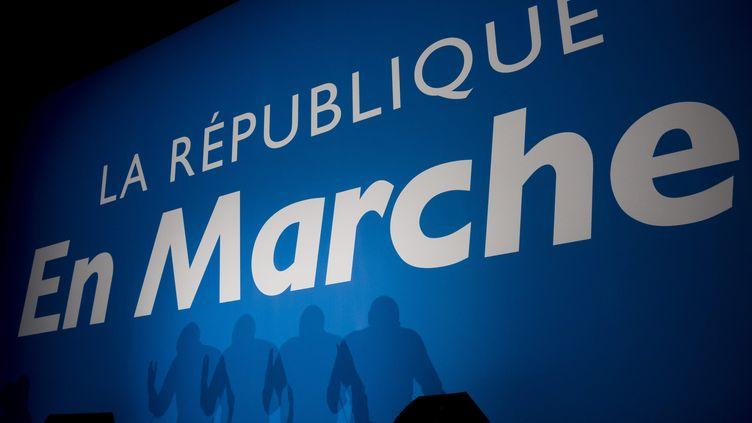Un meeting de la Republique en Marche (LREM) pour l'élection du nouveau délégué général, le 1er décembre 2018, à Nogent-sur-Marne (Val-de-Marne). (VINCENT ISORE / MAXPPP)