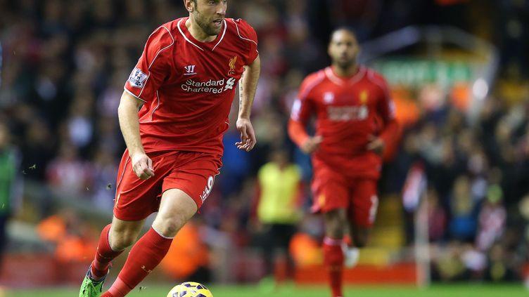 Rickie Lambert sous le maillot de Liverpool (PAUL GREENWOOD / BACKPAGE IMAGES LTD)