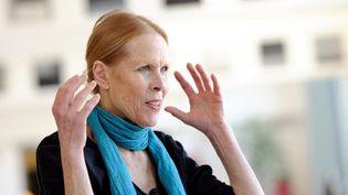 Carolyn Carlson en 2013 à Roubaix  (PHILIPPE HUGUEN / AFP)