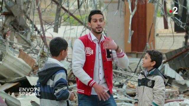 Envoyé spécial. Leçon de rap dans les ruines de Sanaa, Yémen