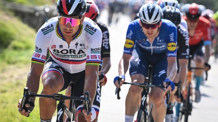 Peter Sagan va rejoindre l'équipe TotalEnergies la saison prochaine. (DAVID STOCKMAN / BELGA)