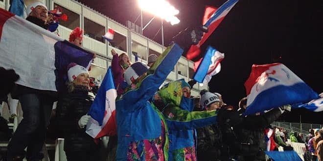 Les supporters français ont donné de la voix. C'était avant la déception