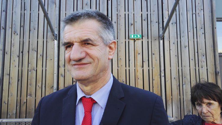 Jean Lassalle, député de 4ème circonscription des Pyrénées Atlantiques en visite à la chambre des métiers de Bayonne le 16 mars 2017. Photo d'illustration. (JACQUES PONS / FRANCE-BLEU PAYS BASQUE)