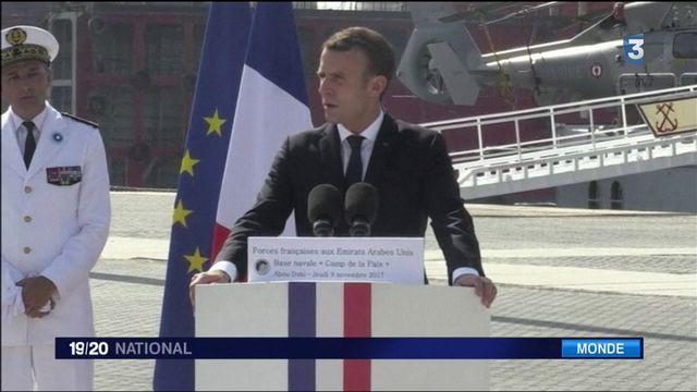 Victoire contre Daech : Macron salue les troupes françaises et met en garde