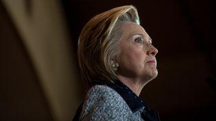 Hillary Clinton prononce un discours à Pittsburgh, en Pennsylvanie, le 14 juin 2016. (JEFF SWENSEN / GETTY IMAGES NORTH AMERICA / AFP)