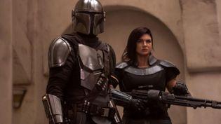 C'est la fin du binôme formé par Mando et Cara Dune : l'actrice Gina Carano ne participera pas à la suite des aventures du Mandalorien. (LUCASFILM LTD.)