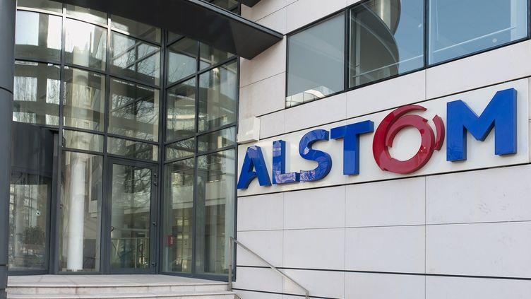 """Le groupe américain voudrait racheter Alstom pour """"plus de 13 milliards de dollars"""". (DANIEL THIERRY / PHOTONONSTOP / AFP)"""