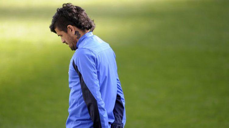 Le joueur argentin Lucho Gonzalez