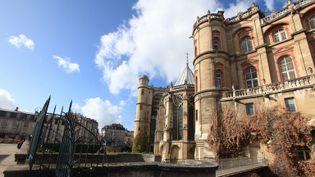 Le château de Saint-Germain-en-Laye (Yvelines), siège du musée d'archéologienational  (PHOTOPQR/LE PARISIEN)