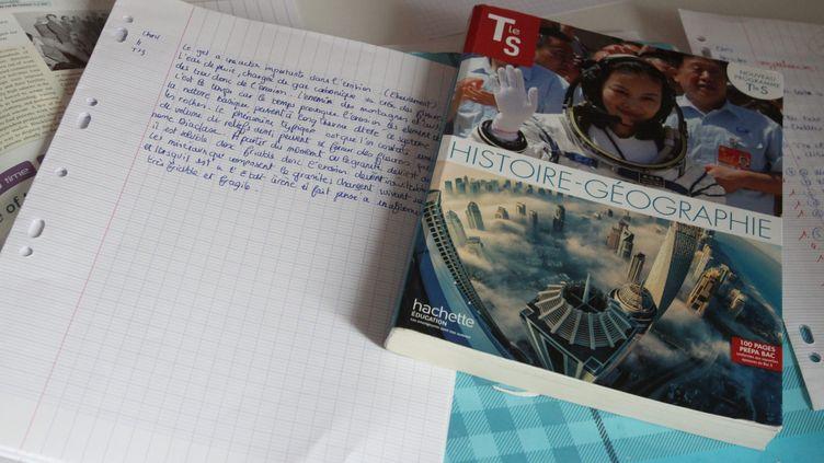 Des manuels scolaires. (JEAN-FRANCOIS FREY / MAXPPP)