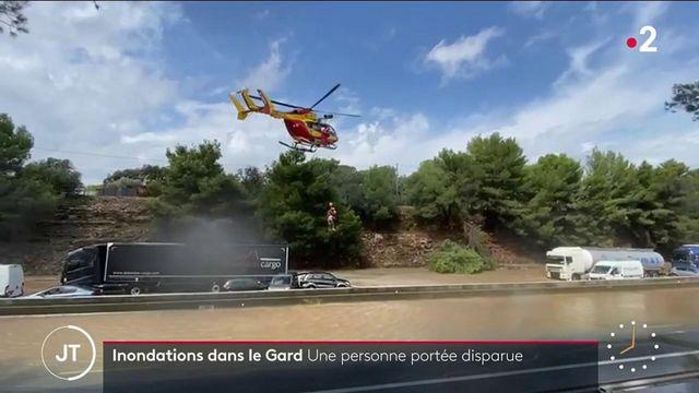 Gard : un record de pluie dans le département