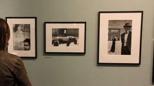 L'exposition Sergio Larrain à la Fondation Cartier-Bresson à Paris (septembre 2013)  (Ginies / SIPA)